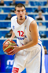 Nando de Colo of France during basketball game between National basketball teams of France and Spain at FIBA Europe Eurobasket Lithuania 2011, on September 11, 2011, in Siemens Arena,  Vilnius, Lithuania.  (Photo by Vid Ponikvar / Sportida)