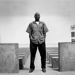 Zakaria Gnegne. Emergence Theater's Director. Ouagadougou. 2006.
