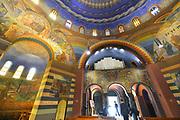 Nederland, Heiliglandstichting, 5-8-2016 De Cenakelkerk in Heilig Landstichting bij Nijmegen is met tien andere kerken en twee synagogen op initiatief van het museum Catharijneconvent onderdeel geworden van het grootste museum Van Nederland. De Cenakelkerk staat naast het museumpark, openluchtmuseum orientalis, en heeft een karakteristieke bijna Arabische bouwstijl met koepel. Het geeft de associatie met de Agia Sophia in IstanbulFoto: Flip Franssen