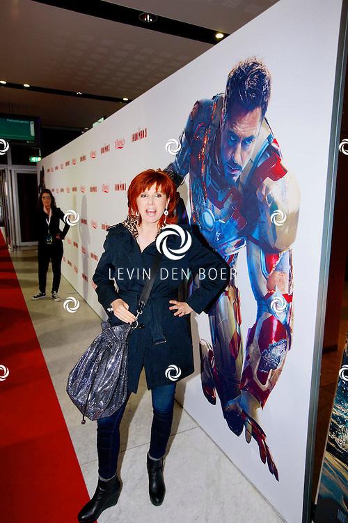 AMSTERDAM - In het Rai theater is de filmpremiere van Iron Man 3. Met op de foto  Chazia Mourali. FOTO LEVIN DEN BOER - PERSFOTO.NU