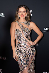 Telemundo Host Jackie Bracamontes during the red carpet event prior to The MISS UNIVERSE® Competition airing on FOX at 7:00 PM ET on Sunday, December 8, 2019 live from Tyler Perry Studios in Atlanta. Contestants from around the globe have spent the last few weeks touring, filming, rehearsing and preparing to compete for the Miss Universe crown. HO/The Miss Universe Organization