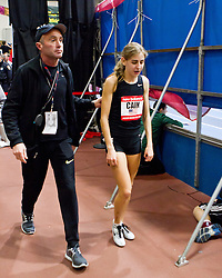 New Balance Indoor Grand Prix track meet: Alberto Salazar, Mary Cain