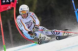 27.01.2018, Kandahar, Garmisch, GER, FIS Weltcup Ski Alpin, Garmisch, Riesenslalom, Herren, 1. Lauf, im Bild Alexander Schmid (GER) // Alexander Schmid of Germany in action during his 1st run of men's Giant Slalom of FIS ski alpine world cup at the Kandahar in Garmisch, Germany on 2018/01/27. EXPA Pictures © 2018, PhotoCredit: EXPA/ Erich Spiess