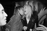 BAY GARNETT; RUTH CHAPMAN, Nick Cave and the Bad Seeds with The Vampire's Wife and Matchesfashion.com party to celebrate the end of their 2017 World tour. Lou lou's. Hertford St. Mayfair.