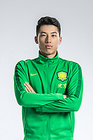**EXCLUSIVE**Portrait of Chinese soccer player Li Siqi of Beijing Sinobo Guoan F.C. for the 2018 Chinese Football Association Super League, in Shanghai, China, 22 February 2018.