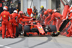 June 10, 2018 - Montreal, Canada - Motorsports: FIA Formula One World Championship 2018, Grand Prix of Canada#7 Kimi Raikkonen (FIN, Scuderia Ferrari) (Credit Image: © Hoch Zwei via ZUMA Wire)