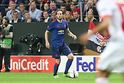 Manchester United Midfielder Daley Blind during the Europa League Final between Ajax and Manchester United at Friends Arena, Solna, Stockholm, Sweden on 24 May 2017. Photo by Phil Duncan.