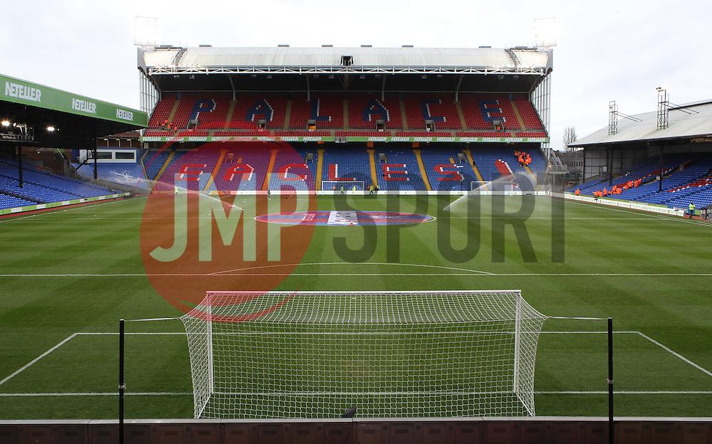 Selhurst Park - Photo mandatory by-line: Robbie Stephenson/JMP - Mobile: 07966 386802 - 14/02/2015 - SPORT - Football - London - Selhurst Park - Crystal Palace v Liverpool - FA Cup - Fifth Round