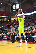 LUBBOCK, TX - DECEMBER 29: Terry Maston #31 of the Baylor Bears shoots the ball during the game against the Texas Tech Red Raiders on December 29, 2017 at United Supermarket Arena in Lubbock, Texas. Texas Tech defeated Baylor 77-53. (Photo by John Weast/Getty Images) *** Local Caption *** Terry Maston