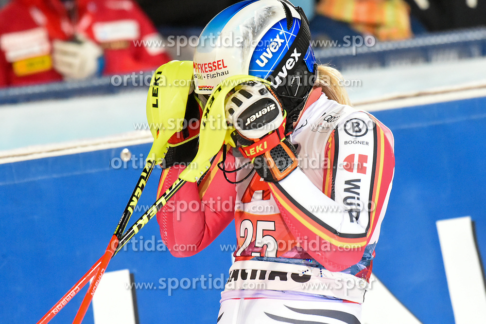 14.01.2020, Hermann Maier Weltcupstrecke, Flachau, AUT, FIS Weltcup Ski Alpin, Slalom, Damen, 2. Lauf, im Bild Marina Wallner (GER) // Marina Wallner of Germany reacts after her 2nd run of women's Slalom of FIS ski alpine world cup at the Hermann Maier Weltcupstrecke in Flachau, Austria on 2020/01/14. EXPA Pictures © 2020, PhotoCredit: EXPA/ Erich Spiess