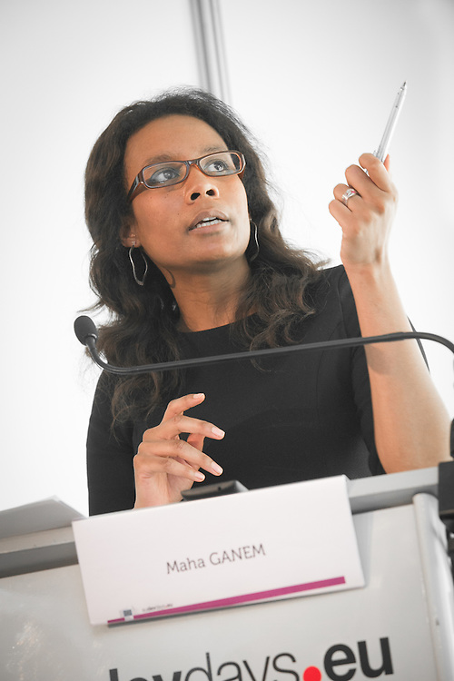 04 June 2015 - Belgium - Brussels - European Development Days - EDD - Urban - Urban future leading the development agenda - Maha Ganem , Journalist © European Union