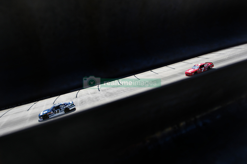 June 2, 2017 - Dover, DE, United States of America - June 02, 2017 - Dover, DE, USA: Brennan Poole (48) takes to the track to practice for the Delaware 200 at Dover International Speedway in Dover, DE. (Credit Image: © Justin R. Noe Asp Inc/ASP via ZUMA Wire)