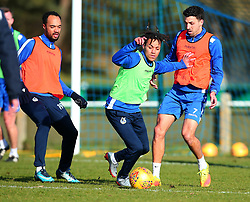 New signing Kyle Bennett Tony Craig takes part in his first training session after signing for Bristol Rovers - Mandatory by-line: Robbie Stephenson/JMP - 01/02/2018 - FOOTBALL - The Lawns Training Ground - Bristol, England - Bristol Rovers Training