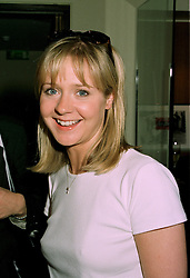 MISS KATE REARDON the fashion writer at a party in London on 11th June 1997.LZG 65