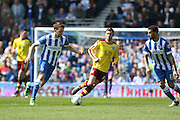 Brighton central midfielder, Dale Stephens (6) during the Sky Bet Championship match between Brighton and Hove Albion and Burnley at the American Express Community Stadium, Brighton and Hove, England on 2 April 2016. Photo by Phil Duncan.