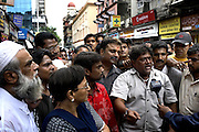 On sunday local Muslims in Colaba vent their fury at pakistan shouting 'we must attack Pakistan now'
