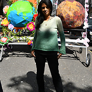 Konnie Huq join Mothers rise up host a Mothers Climate March 2019 assembly at Hype park, on 12 May 2019, at Hype Park, London, UK