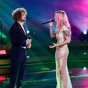 NLD/Baarn/20180410 - 2018 finale 'It Takes 2, Marcel Veenendaal en Dione Slagter