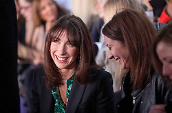 © Licensed to London News Pictures. 20/02/2012. London, UK.  Samantha Cameron on the front row Christopher Kane Autumn/Winter 2012 collection at 1 New Change on Day 4 of London Fashion Week 2012 . Photo credit : Ben Cawthra/LNP