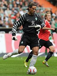 18.09.2010, Weserstadion, Bremen, GER, 1. FBL, Werder Bremen vs 1. FSV Mainz 05, im Bild Tim Wiese (Bremen #1)   EXPA Pictures © 2010, PhotoCredit: EXPA/ nph/  Frisch+++++ ATTENTION - OUT OF GER +++++