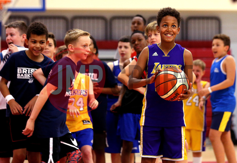 Children take part in the Bristol Flyers half term holiday camp - Mandatory by-line: Robbie Stephenson/JMP - 25/10/2016 - BASKETBALL - SGS Wise Arena - Bristol, England - Bristol Flyers Holiday Camp
