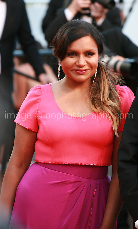 Actress Mindy Kaling at the gala screening for the film Inside Out at the 68th Cannes Film Festival, Monday May 18th 2015, Cannes, France