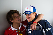 October 8-11, 2015: Russian GP 2015: Marcus Ericsson, Sauber Ferrari , Roberto Merhi (SPA) Manor Marussia F1 Team