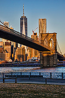 Brooklyn Bridge, Empire Fulton Ferry Park