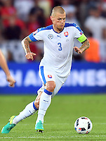 2016.06.20 Saint-Etienne<br /> Pilka nozna Euro 2016<br /> mecz grupy C Slowacja - Anglia<br /> N/z Martin Skrtel<br /> Foto Lukasz Laskowski / PressFocus<br /> <br /> 2016.06.20 Saint-Etienne<br /> Football UEFA Euro 2016 group C game between Slovaki and England<br /> Martin Skrtel<br /> Credit: Lukasz Laskowski / PressFocus