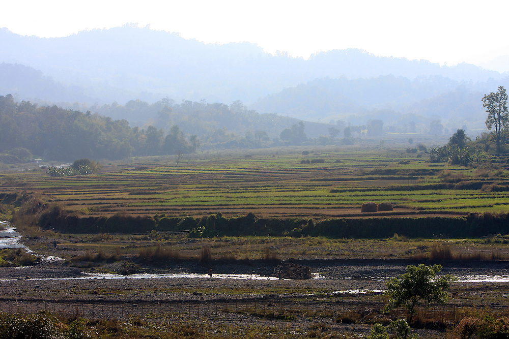 Chauk to Mindat, Myanmar.