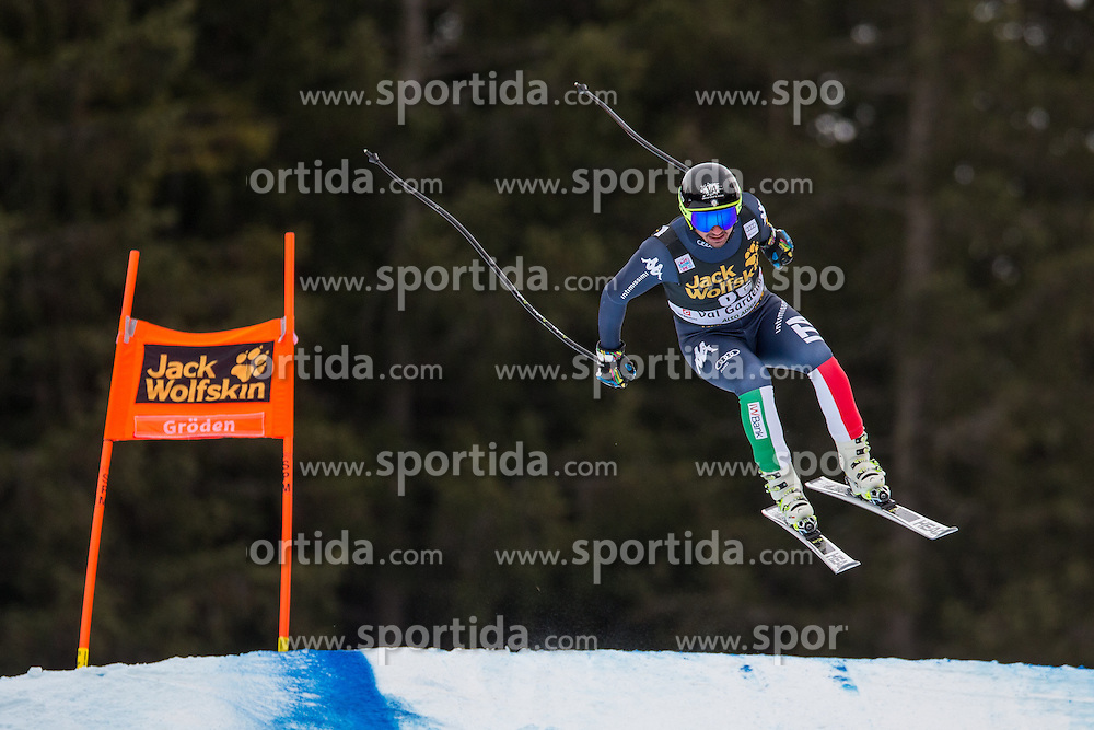 16.12.2015, Saslong, Groeden, ITA, FIS Ski Weltcup, Herren, Abfahrt, 1. Training, im Bild Silvano Varettoni (ITA) // Silvano Varettoni of Italy in action 1st downhill practice of the Groeden FIS Ski Alpine World Cup at the Saslong Course in Gardena, Italy on 2015/12/16. EXPA Pictures © 2015, PhotoCredit: EXPA/ Johann Groder
