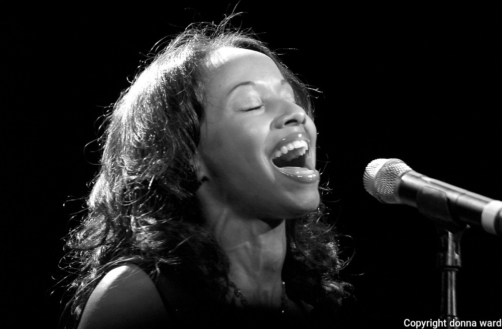 "Vivian Green performs at the 106.7 Lite FM ""One Night With Lite"" concert at the Theater at Madison Square Garden on Tuesday, September 26, 2006 in New York."