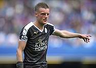 Jamie Vardy of Leicester City during the Barclays Premier League match against Chelsea at Stamford Bridge, London<br /> Picture by Andrew Timms/Focus Images Ltd +44 7917 236526<br /> 14/05/2016