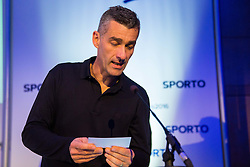 Marko Simeunovic during Sports marketing and sponsorship conference Sporto 2016, on November 18, 2016 in Hotel Slovenija, Congress centre, Portoroz / Portorose, Slovenia. Photo by Vid Ponikvar / Sportida