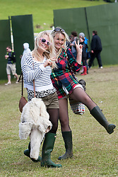 Fans..Rockness, Sunday, 12th June 2011..RockNess 2011, the annual music festival which takes place in Scotland at Clune Farm, Dores, on the banks of Loch Ness near Inverness..Pic ©2011 Michael Schofield. All Rights Reserved..