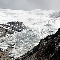 """Glaciers on the Tibetan Plateau..High-altitude Tibet is known as the """"rooftop of the world,"""" but lately the roof is a bit saggy. Global warming is rapidly melting glaciers on the Tibetan Plateau, water source for many of the region's rivers. This great melt -- already being felt in flooding -- could eventually cause water shortages and a variety of other troubles. Photos: Bernardo De Niz"""