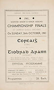 Munster Senior and Minor Hurling Championship Final, held at Croke Park, Dublin, Ireland..26101941MMHCF..26.10.1941, 10.26.1941, 26th October 1941, ..MInor Cork v Tipperary,