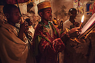 The Ethiopian Church is one of the oldest in the world, dating back to 4th Century AD, when Orthodox Christianity was made the official religion of the Axumite Kingdom, present day Ethiopian region of Tigray. Over the centuries, Christianity has shaped the people's psyche, as well as the landscape of Tigray, where hundreds of churches and monasteries have been erected and even carved right into mountain faces, so abundant in the region.<br /> <br /> Modern-day Tigray has been at the cross roads of natural disasters, conflict and political turmoil. These difficulties have led to virtually no development in much of the region's rural areas. While the lack of development has translated into relatively low living standards, the scarcity of contact with the modern-world has also meant that Christian Ethiopia's ancient culture, traditions and history have been preserved in Tigray's remote corners better than virtually anywhere else.<br /> <br /> In Tigray, even the most remote and the most ancient of the churches and monasteries still function and the people in nearby villages still go about their lives much as they have for hundreds of years.
