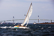 Surprise sailing in the Museum of Yachting Classic Yacht Regatta.