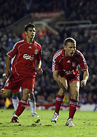 Photo: Rich Eaton.<br /> <br /> Birmingham City v Liverpool. Carling Cup. 08/11/2006. Craig Bellamy of Liverpool rues his secondhalf miss