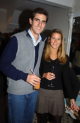 The EARL & COUNTESS COMPTON he is the son and heir of the Marquess of Northampton at a party to celebrate the opening of children's store Chippi Hacki at 8 Motcomb Street, London, SW1 on 24th November 2004.<br />