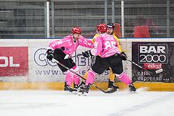 KOCAR Timotej during Alps Hockey League match between HC Pustertal and HDD SIJ Jesenice, on October 3, 2019 in Ice Arena Podmezakla, Jesenice, Slovenia. Photo by Peter Podobnik / Sportida