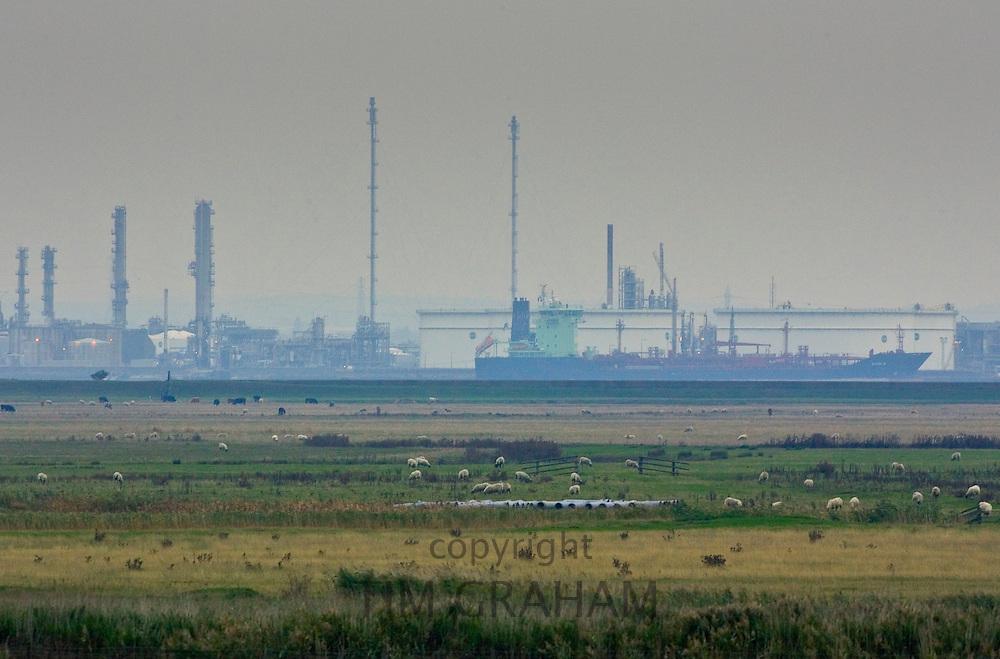 BP Oil Refinery at Coryton, North Kent, United Kingdom