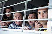 20161127/ Javier Calvelo - adhocFOTOS/ URUGUAY/ MONTEVIDEO/  DEPORTE - FUTBOL/ CAMPEONATO URUGUAYO ESPECIAL 2016 / 13&deg; FECHA/ Pe&ntilde;arol ante Nacional por el clasico del futbol uruguayo en el Estadio Centenario en la 13&deg; fecha del Campeonato Uruguayo Especial 2016.<br /> En la foto:Momentos previos al coomienzo del encuentro Pe&ntilde;arol ante Nacional en el Estadio Centenario por el Campeonato Uruguayo Especial. Foto: Javier Calvelo/ adhocFOTOS