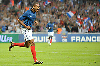 FOOTBALL - FRIENDLY GAME - FRANCE v CHILI - 10/08/2011 - PHOTO SYLVAIN THOMAS / DPPI - JOY LOIC REMY (FRA) AFTER HIS GOAL