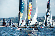 Day two of the Extreme Sailing Series at Nice. 3/10/2014