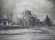 the Istanbul Military Museum housed in the St. Irene Church Turkey early 1900