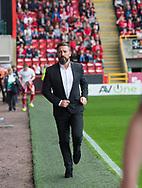 August 19th 2017, Pittodrie Stadium, Aberdeen, Scotland;  Scottish Premiership football, Aberdeen versus Dundee; Aberdeen boss Derek McInnes
