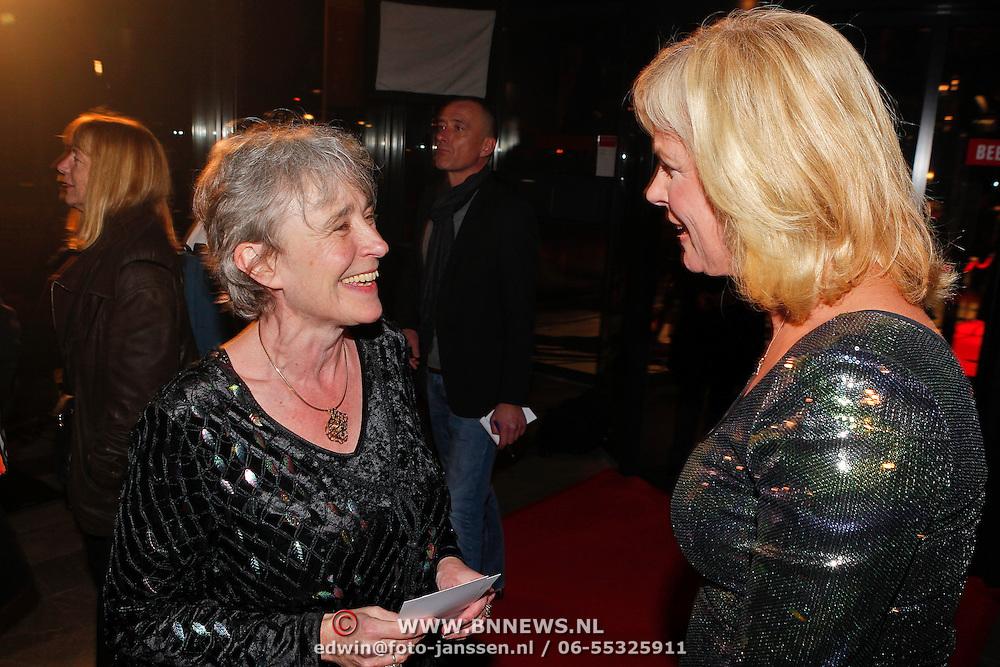 NLD/Amsterdam/20110124 - Uitreiking Beeld en Geluid awards 2010, Clairy Polak Polak en Irene Moors