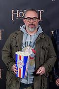Alex de la Iglesia at The Hobbit premiere in Madrid